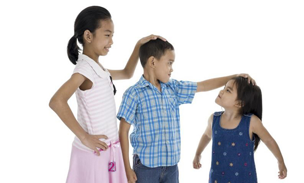 Children with pituitary failure will be shorter than their peers