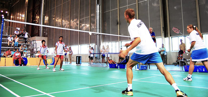 Playing badminton helps the height grow favorably