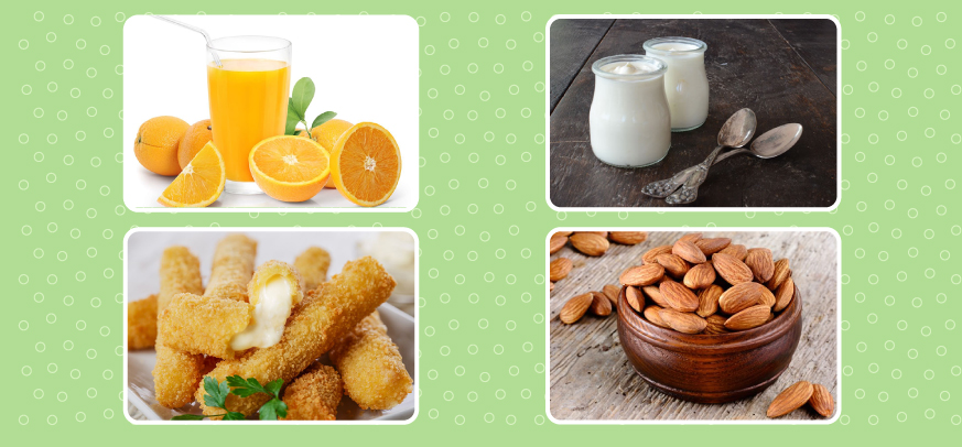 Snack foods that help children grow taller