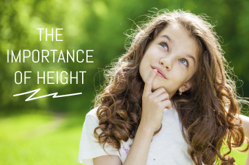 The importance of height and suggestions to be taller